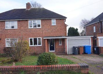 Thumbnail 3 bed semi-detached house for sale in Schoolfields Road, Shenstone, Lichfield