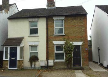 Thumbnail 2 bed semi-detached house to rent in Pinner Road, Watford