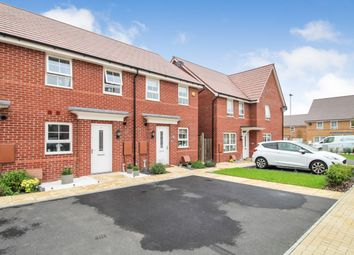 Thumbnail 2 bed terraced house for sale in Fells Paddock, Marston Moretaine, Bedford