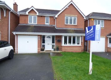 Thumbnail 4 bedroom detached house to rent in Old Station Close, Etwall, Derby