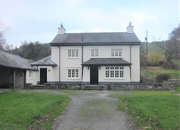 Thumbnail 4 bed detached house to rent in Erwood, Builth Wells