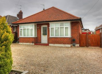 Thumbnail 3 bedroom detached bungalow for sale in St. Williams Way, Norwich
