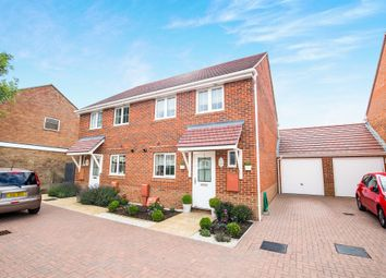 Thumbnail 3 bed semi-detached house for sale in Wood Hill Way, Felpham, Bognor Regis
