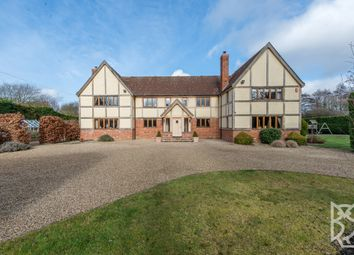 Thumbnail 6 bedroom detached house for sale in Lamarsh Road, Alphamstone, Bures