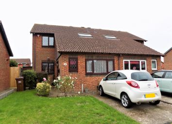 Thumbnail 4 bed semi-detached house for sale in Westminster Close, Eastbourne