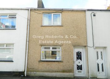 Thumbnail 3 bed terraced house for sale in King Street, Tredegar, Blaenau Gwent.