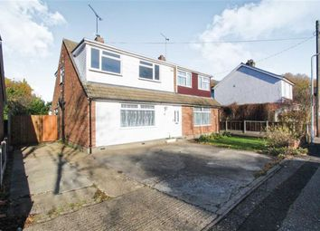 Thumbnail 3 bed property for sale in North Crescent, Wickford, Essex