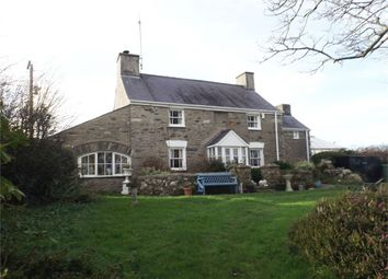 Thumbnail 3 bed detached house for sale in Llanrhyddlad, Holyhead, Anglesey