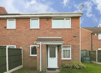 Thumbnail 1 bedroom end terrace house for sale in Ashbourne Court, Hempshill Vale, Nottinghamshire