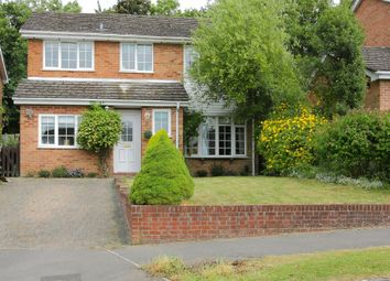 Thumbnail 4 bed detached house for sale in Caerleon Drive, Andover