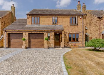 Thumbnail 4 bed detached house for sale in Tyers Close, Leicestershire
