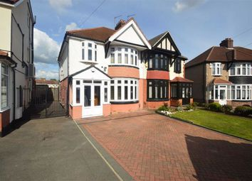 Thumbnail 3 bed semi-detached house for sale in Stradbroke Grove, Clayhall, Essex