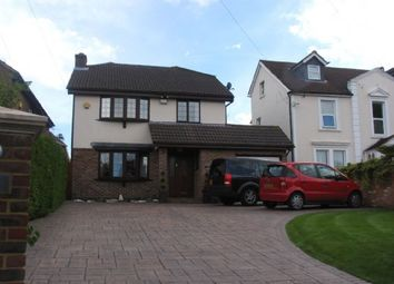 Thumbnail 4 bed detached house to rent in Woodlands Road, Camberley