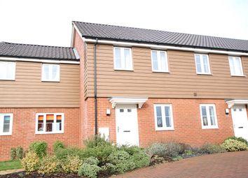 Thumbnail 2 bed terraced house for sale in Masons Drive, Great Blakenham, Ipswich, Suffolk
