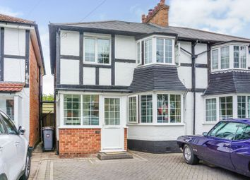 3 bed semi-detached house for sale in Ulverley Green Road, Solihull B92