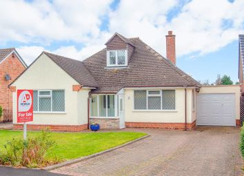 Thumbnail 3 bed detached bungalow for sale in Cherry Crescent, Bromsgrove, Worcestershire