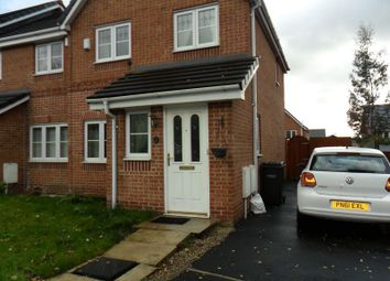 Thumbnail 3 bed semi-detached house to rent in Bedfordshire Close, Chadderton, Oldham