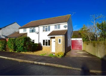 Thumbnail 3 bed semi-detached house for sale in Templar Road, Yate, Bristol