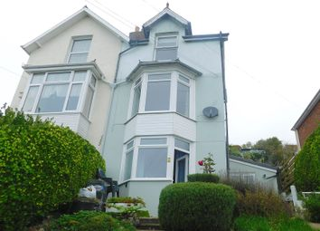 Thumbnail 2 bed maisonette for sale in Gills Cliff Road, Ventnor, Isle Of Wight.