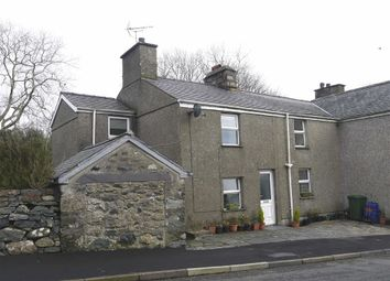 Thumbnail 3 bed cottage for sale in Garndolbenmaen