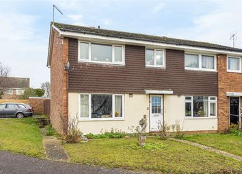 Thumbnail 3 bed semi-detached house for sale in Cotman Close, Bedford