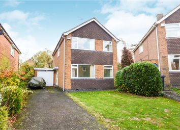 Thumbnail 3 bed detached house for sale in Woodbury Rise, Great Glen, Leicester