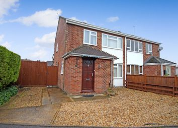 Thumbnail 2 bed semi-detached house for sale in Aintree, Lambourn, Hungerford