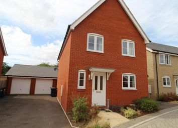 Thumbnail 4 bedroom detached house to rent in The Pastures, St. Neots