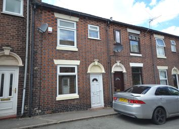 Thumbnail 3 bed terraced house for sale in Madeley Street, Silverdale, Newcastle-Under-Lyme