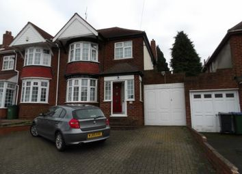 Thumbnail 3 bed semi-detached house for sale in Brandhall Road, Oldbury, West Midlands
