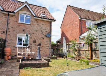 Thumbnail 2 bedroom end terrace house for sale in Cromwell Road, Weeting
