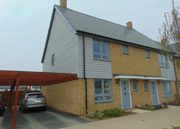 Thumbnail 3 bed semi-detached house to rent in Repton Avenue, Ashford