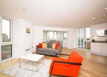 Thumbnail 3 bed flat to rent in Sky View Tower, 12 High Street, London, Stratfod