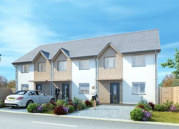 Thumbnail End terrace house for sale in Meadowview, Grampound Road, Truro, Cornwall