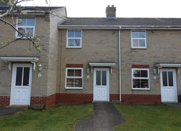 Thumbnail 2 bed terraced house to rent in Tollgate Lane, Bury St. Edmunds