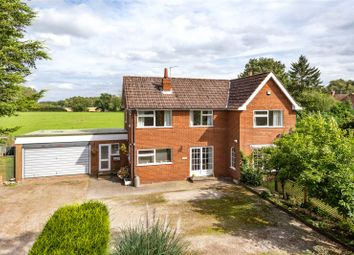 Thumbnail 4 bed detached house for sale in York Road, Escrick, York, North Yorkshire