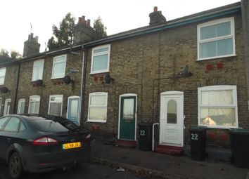 Thumbnail 2 bed terraced house to rent in Union Street West, Stowmarket