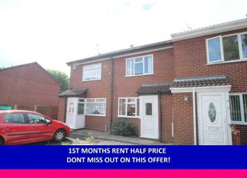 Thumbnail 2 bed terraced house to rent in The Heathlands, Blackheath, Rowley Regis, West Midlands