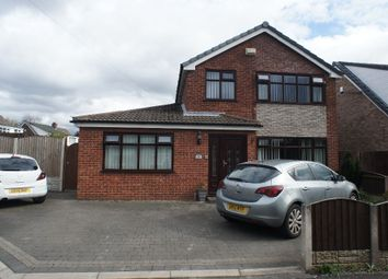 Thumbnail 4 bedroom detached house for sale in Linden Close, Woolston, Warrington