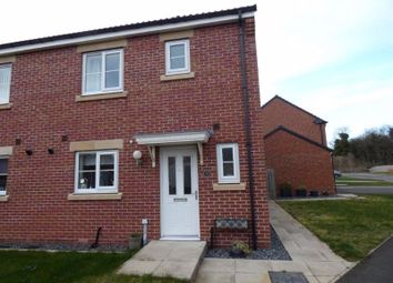 Thumbnail 3 bed semi-detached house for sale in Ridge End Drive, Seaton Delaval, Whitley Bay