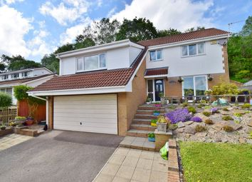 Thumbnail 5 bedroom detached house for sale in Blackthorn Court, Dranllwyn Close, Machen, Caerphilly