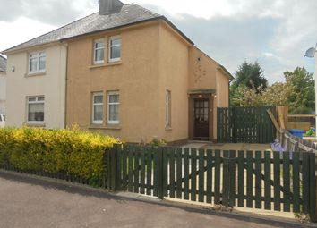 Thumbnail 2 bed semi-detached house for sale in Woodlands Crescent, Bothwell