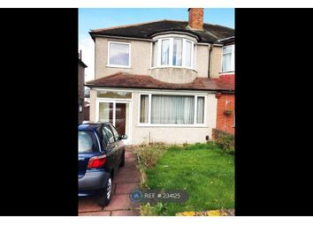 Thumbnail 4 bed semi-detached house to rent in Foots Cray Road, London