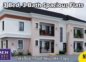 Thumbnail 3 bed apartment for sale in Amen Estate Phase 2, Eleko Beach Road, Ajah, Ibeju Lekki, Lagos