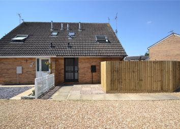 Thumbnail 1 bed end terrace house to rent in Deerfield Close, Buckingham