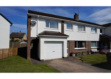 Thumbnail 5 bed semi-detached house for sale in Culgarth Avenue, Cockermouth