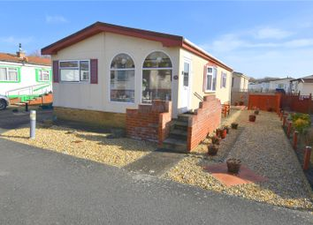 Thumbnail 2 bed bungalow for sale in Willowbrook Park, Old Salts Farm Road, Lancing, West Sussex