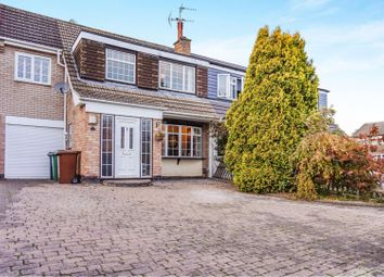 Thumbnail 4 bed semi-detached house for sale in Peartree Close, Anstey