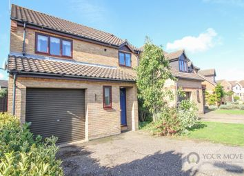 Thumbnail 3 bed detached house for sale in All Saints Green, Worlingham, Beccles