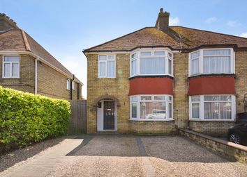 Thumbnail 3 bed semi-detached house for sale in Shorncliffe Road, Folkestone